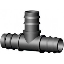 PP Plug-piece for PE Pipe coupling T-piece