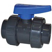 Ball valve with thread